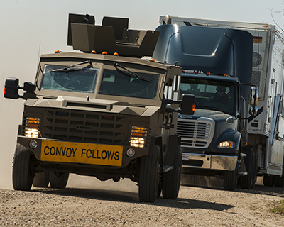 Convoy - Security Forces - Minot AFB