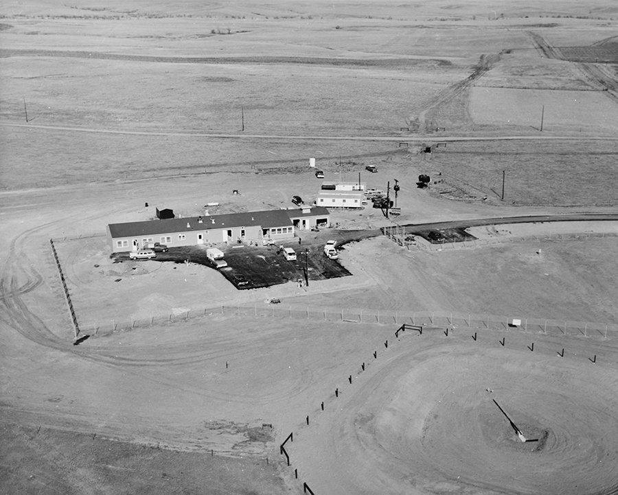 Minuteman Missile Launch Control Facility Construction