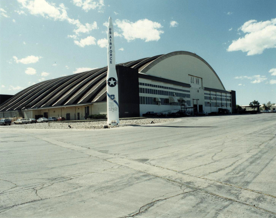 Ellsworth Air Force Pride Hangar