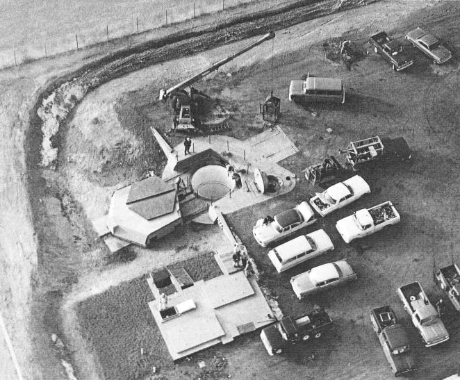 Launch Facility Contruction FE Warren AFB 1964