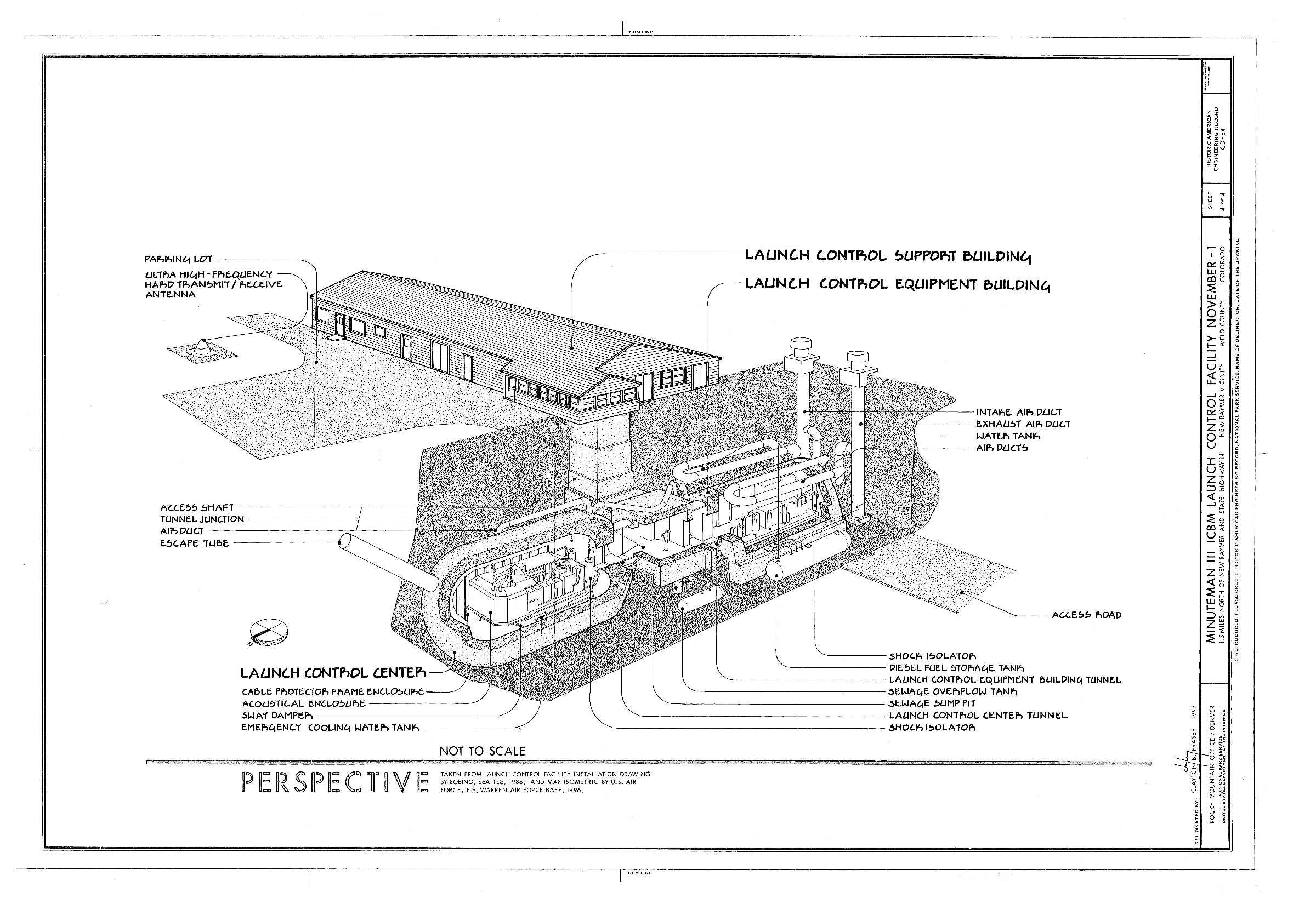 Launch facility site plan