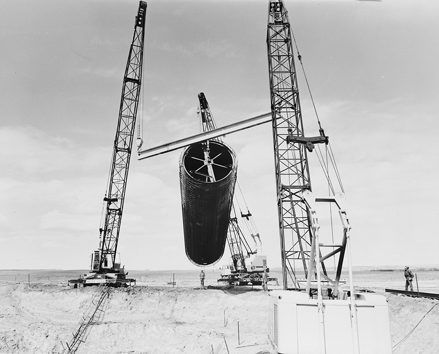 Launch Tube Construction