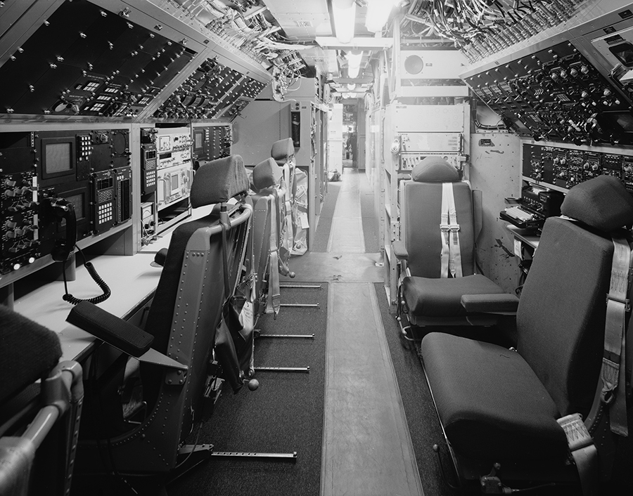 Communications Compartment Looking Forward