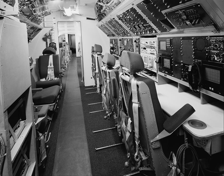 Communications Compartment Looking Toward The Rear