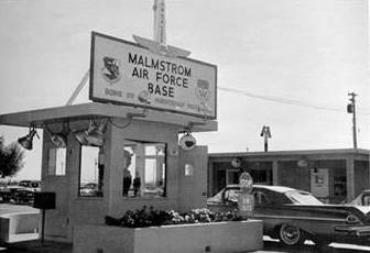 Malmstrom Air Force Base Gate 1968