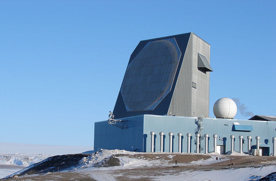 Thule Early Warning Radar - Greenland