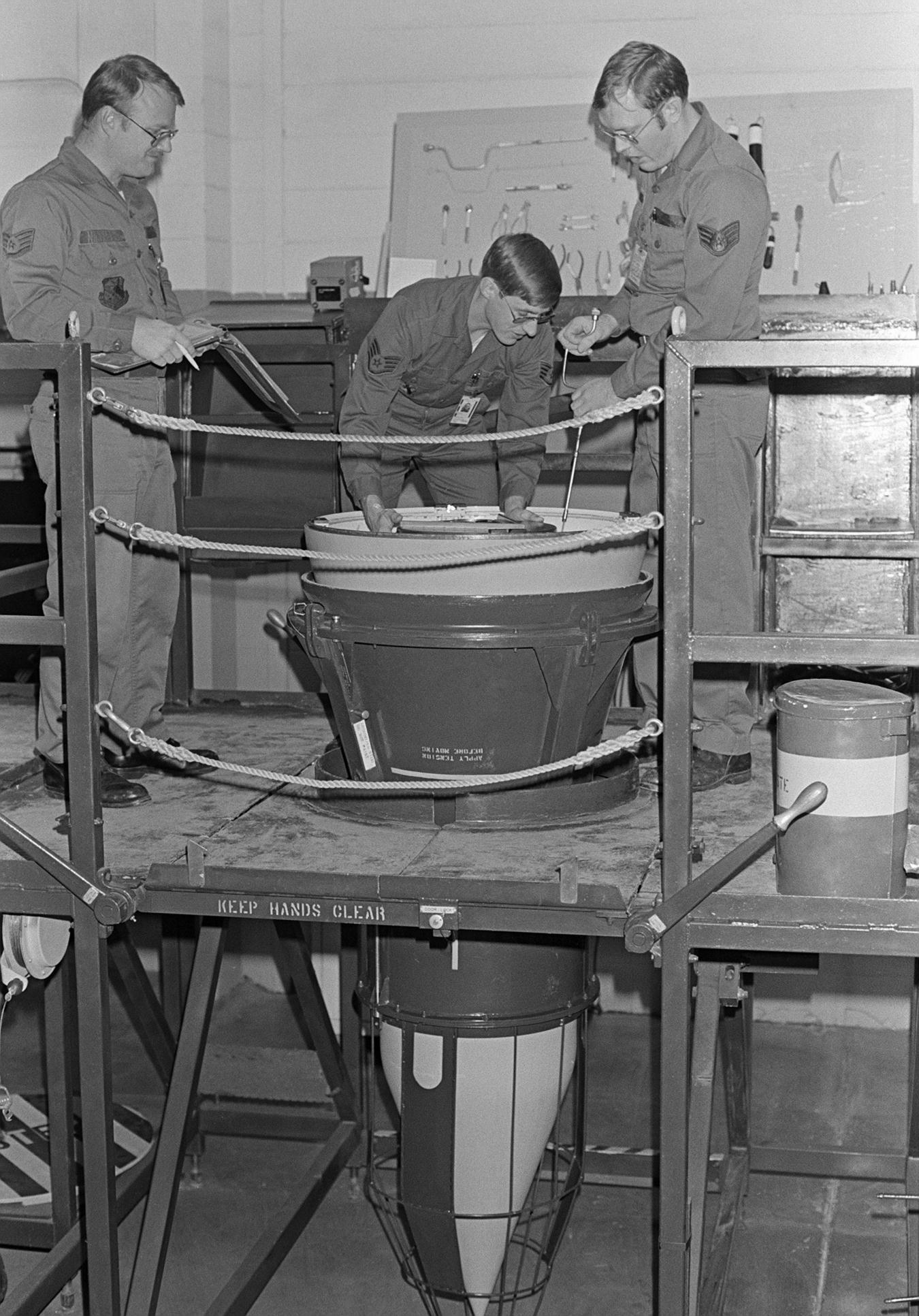 Minuteman Missile Nuclear Warheads